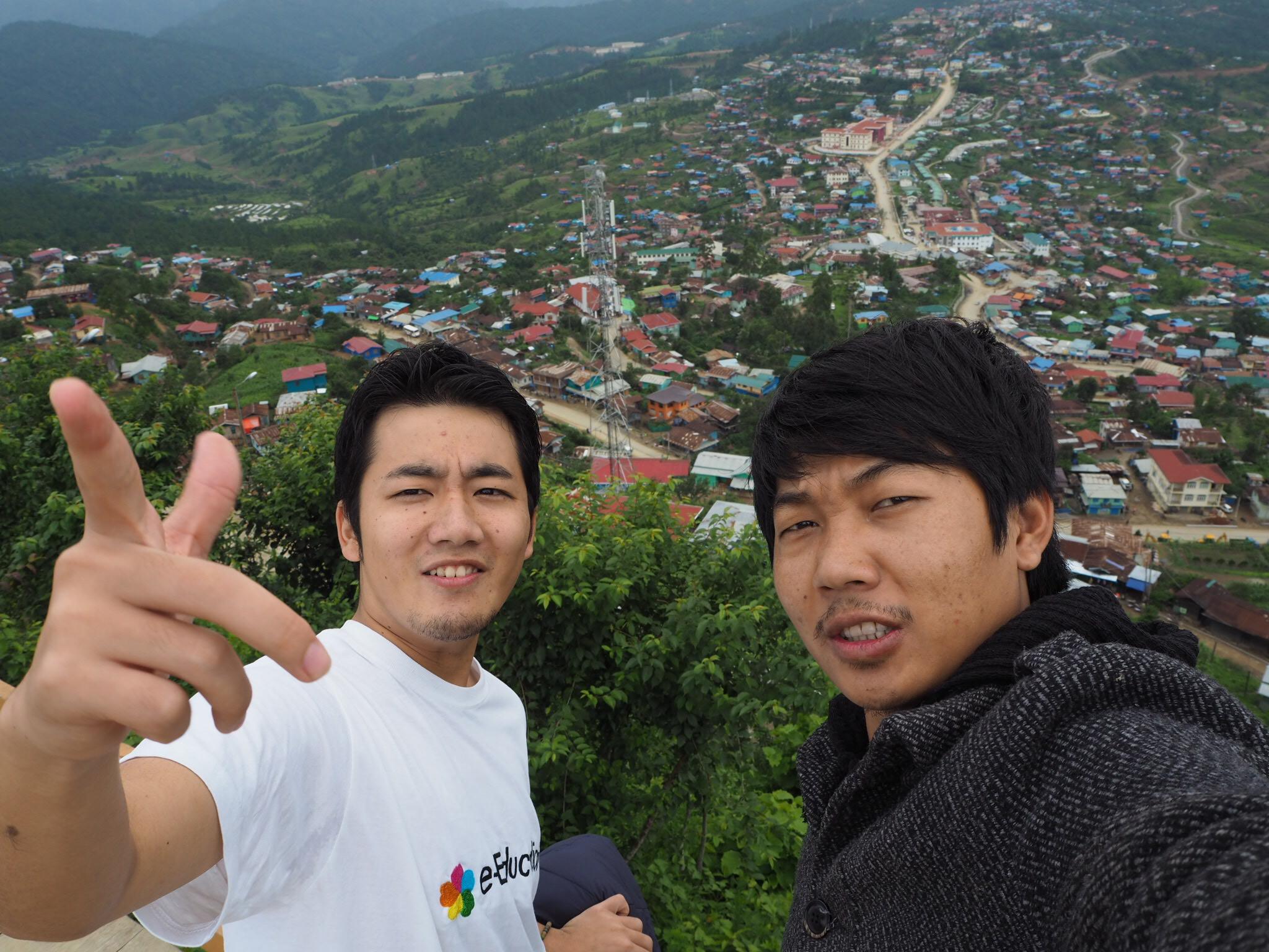 ミャンマー チン州 パートナー