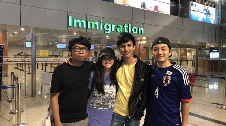 ミャンマーに再渡航してから3ヶ月経過。進捗報告!